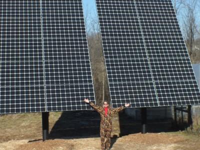 Solar PV System On A POLE MOUNT